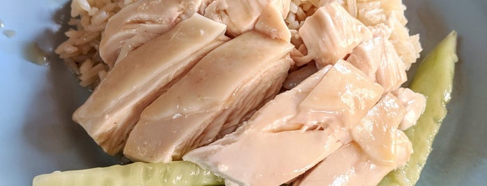 Ah-Tai Hainanese Chicken Rice is one of Singapore Eats.