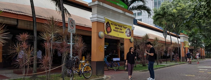 Maxwell Food Centre is one of Singapore Eats.