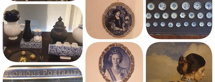 Royal Delft - De Koninklijke Porceleyne Fles is one of Amsterdam & Belgium.