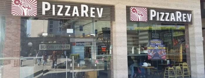 PizzaRev is one of Monterrey.
