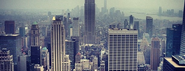 Top of the Rock Observation Deck is one of NY.
