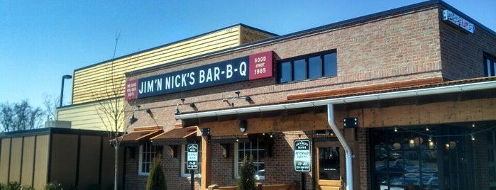 Jim 'N Nick's Bar-B-Q is one of สถานที่ที่ Daron ถูกใจ.