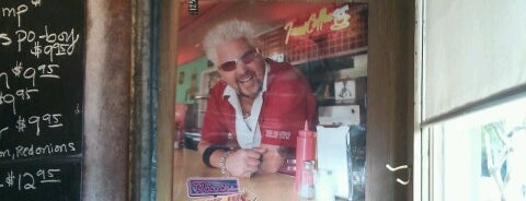 Joey K's is one of Diners, Drive-Ins, & Dives.