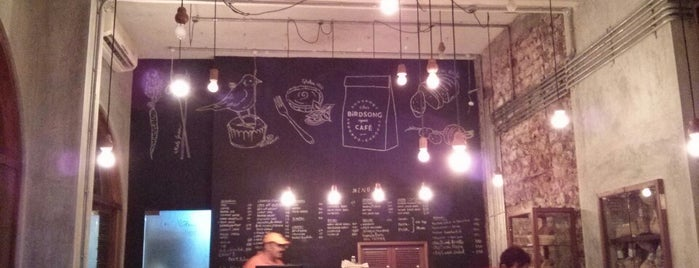 Birdsong Café is one of Tempat yang Disukai Aahana.
