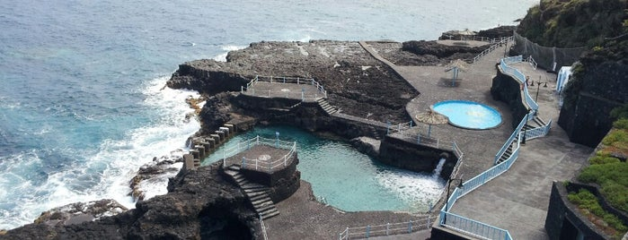 Charco Azul is one of La Palma, Spain.
