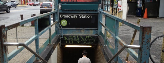 MTA Subway - Broadway (G) is one of USA NYC BK Bushwick.