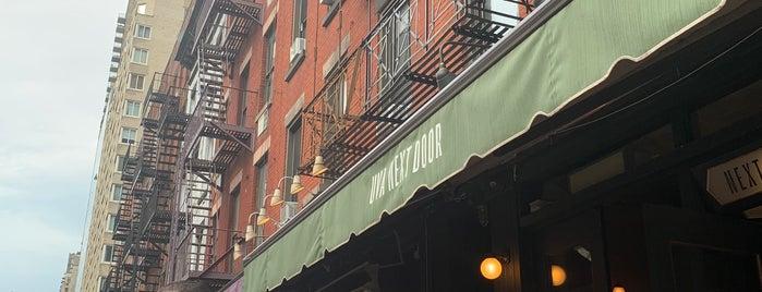 Uva Next Door is one of Heated Outdoor Dining in NYC.