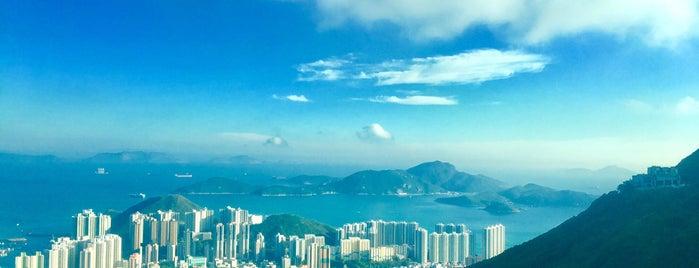 Peak Road is one of HK's Roads Path.