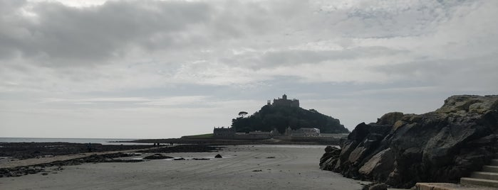 St Michael's Mount Causeway is one of Posti che sono piaciuti a Carl.
