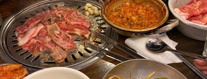 새마을식당 is one of Korea.
