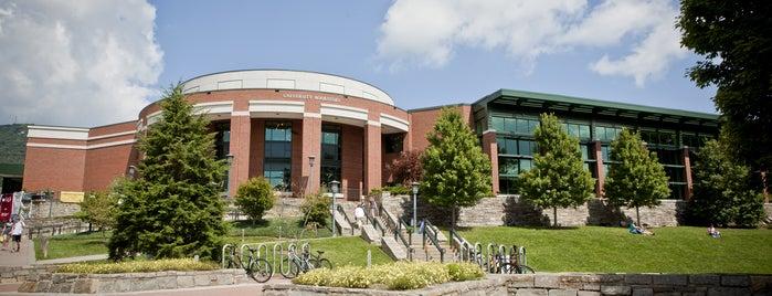 Appalachian State University Bookstore is one of North Carolina.