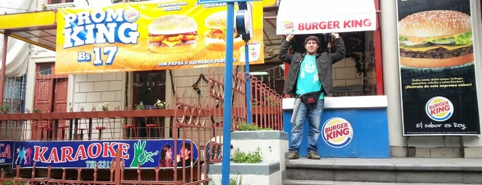 Burger King is one of pour manger =).