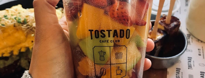 Tostado Café Club is one of cafes.