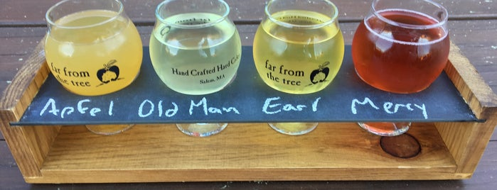 Far From the Tree Craft Cider is one of Best of Boston.