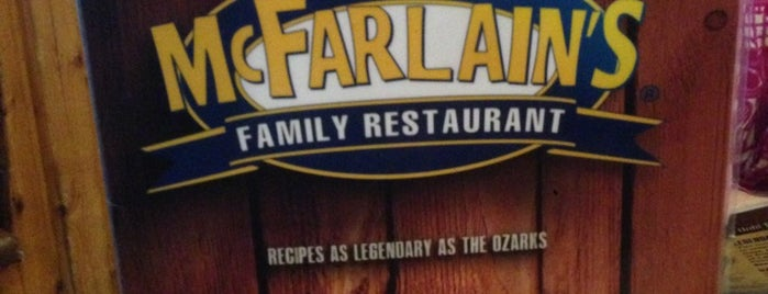 McFarlain's Family Restaurant is one of Lizzie: сохраненные места.