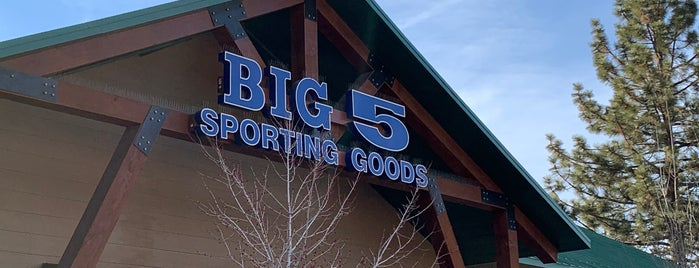 Big 5 Sporting Goods is one of Big Bear Lake (Anti-Zombie Survival).