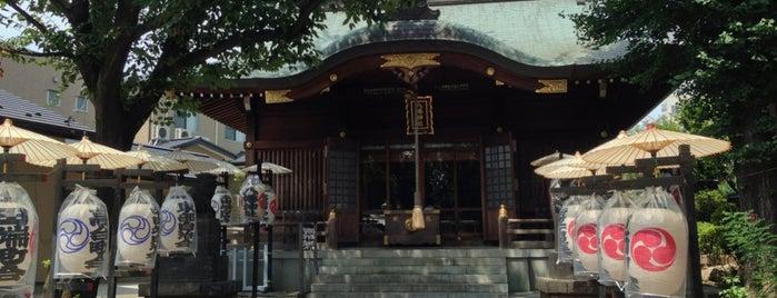 田端八幡神社 is one of 神輿で訪れた場所-1.