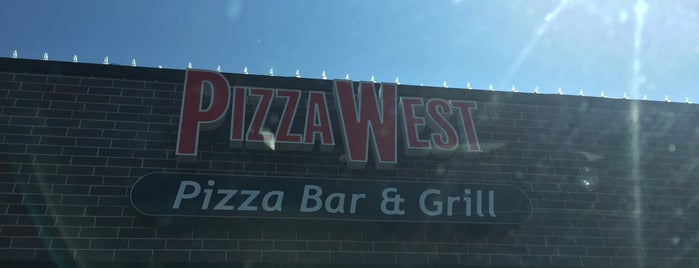 PizzaWest is one of Pizza!!.