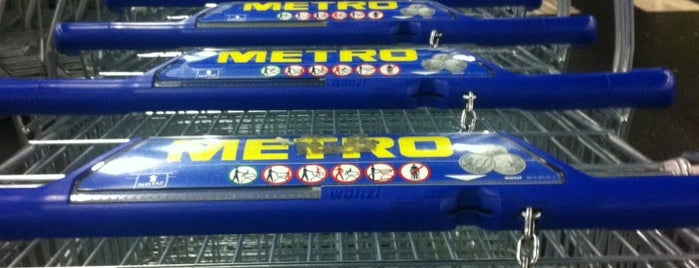 METRO Cash & Carry is one of Posti che sono piaciuti a Jay.