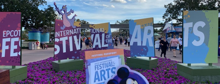 Epcot International Festival of the Arts is one of Lieux qui ont plu à Lisa.