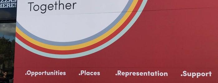 Southampton University Students' Union is one of Orte, die Barry gefallen.