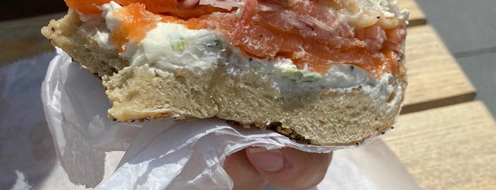 Ess-a-Bagel is one of New York.