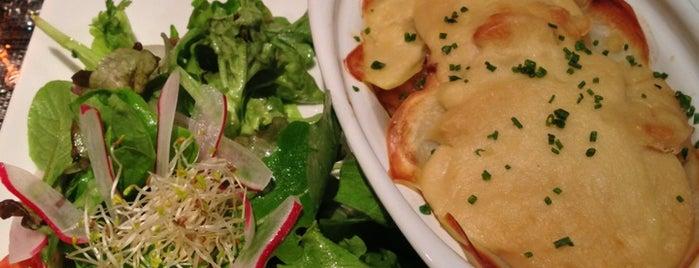 Gentle Gourmet Café is one of Healthy & Veggie Food in Paris.