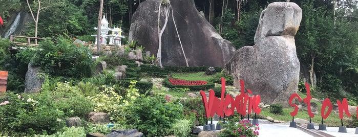Valentine Stone is one of Koh Samui.