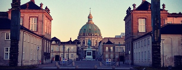 Amalienborg is one of Copenhagen.