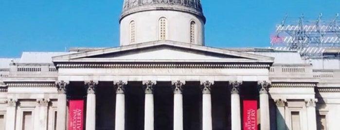 National Gallery is one of Lieux qui ont plu à Amélie.