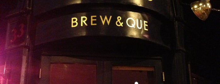 Duke's Brew & Que is one of London Map.