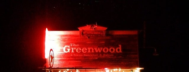 The Greenwood Saloon is one of Lugares favoritos de Stacy.