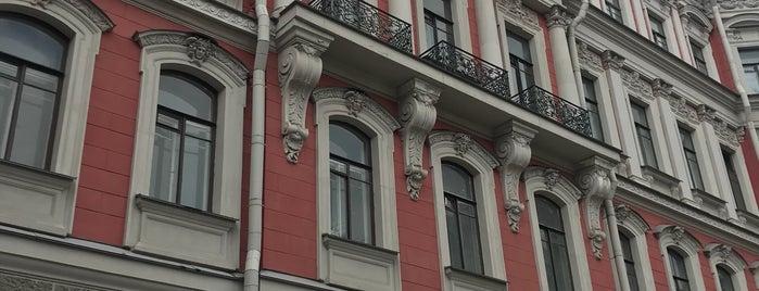 Дом страхового общества «Россия» is one of СПб. Необычные места.