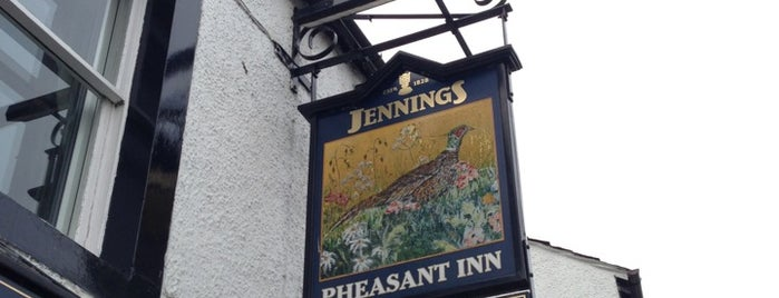 The Pheasant Inn is one of Lieux qui ont plu à Carl.