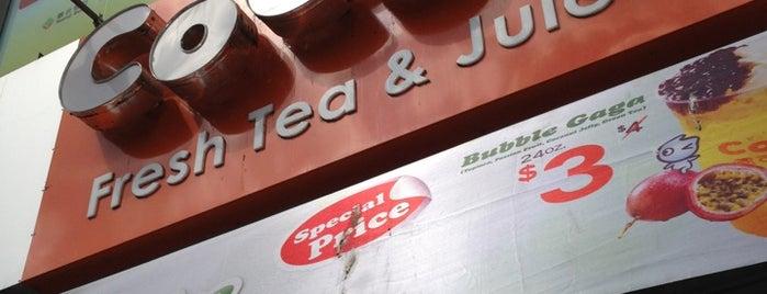 CoCo Fresh Tea & Juice is one of VISITED (U.S).