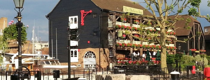 The Dickens Inn is one of Finest Outdoor Drinking Spots in London.
