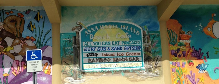 Anna Maria Island Beach Cafe is one of My Beaches.