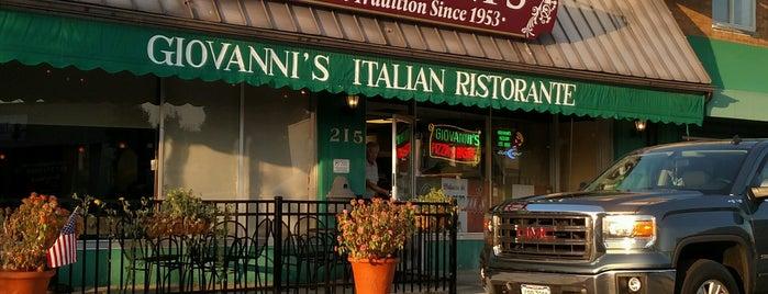 Giovannis Pizzeria e Ristorante Italiano is one of Gem City.