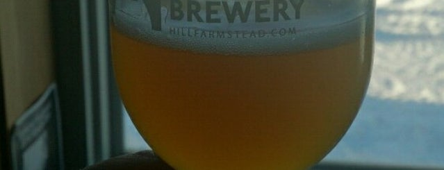 Hill Farmstead Brewery is one of Breweries USA.