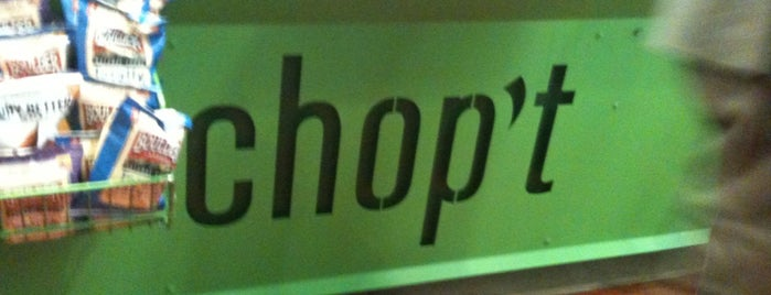 CHOPT is one of Lunch spots.