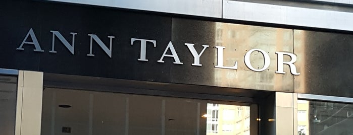 Ann Taylor is one of New York Places.