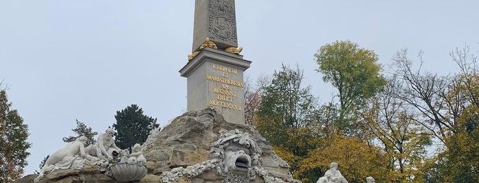 Obeliskenbrunnen is one of Locais curtidos por Karl.