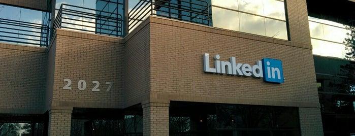 LinkedIn Building 2 is one of Orte, die Jason gefallen.