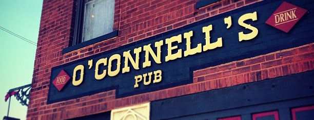 O'Connell's Pub is one of T+L's Guide to Eating Like a Local.