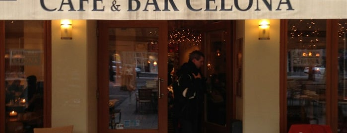 Cafe & Bar Celona is one of Ante 님이 저장한 장소.