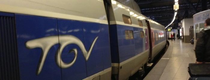 Gare de Bruxelles-Midi (ZYR) is one of BXL to do.