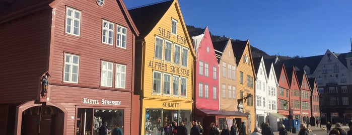 Bryggen is one of Bergen.