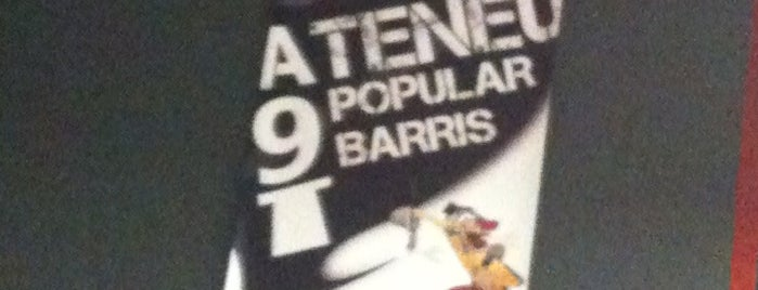 Ateneu Popular de Nou Barris is one of ARQUITECTURA.