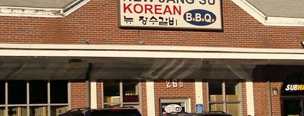 New Jang Su BBQ is one of Boston - Mid Level.