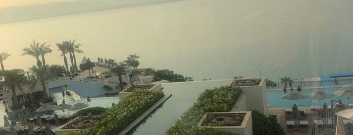Hilton Dead Sea Resort And Spa is one of Posti che sono piaciuti a Marco.